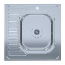 60х60 мийка правий стіл polish (0,6мм) UA