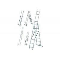 Драбина  3x11 універсальна, довжина 6,8/3,1м., вага 16,2кг LZ3211B/LLA311 WERK