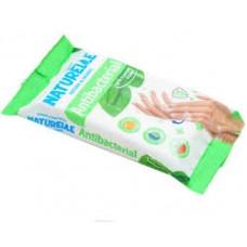 Вологі серветки Naturelle Antibacterial з екстрактом листя подорожника 48 шт
