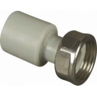 Муфта РВ з НГ (ППзНГ) пластик PPR  32*1