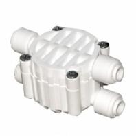 """Четирёхходовой клапан для систем зворотного осмосу, під'єднання 4 x 1/4 """", тип JG S-3000WJG"""