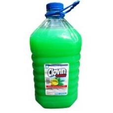 """Мило рідке Clovin Handy антибактеріальне """"Лимон і Зелений чай"""" з гліцеріном 5000мл"""