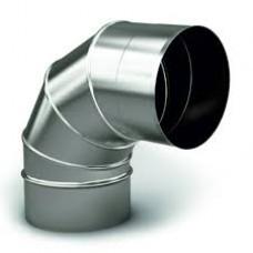 Коліно d 100*90 з оцинкованої сталі