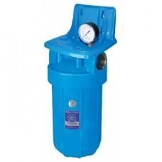 """Корпус фільтру 10"""" синій оновлений посилений натрубний типу """"Big Blue"""" FH10B1-B-WB 10"""" Aquafilter"""