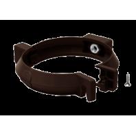 Кронштейн труби пластик 100 Rainway (коричневий)