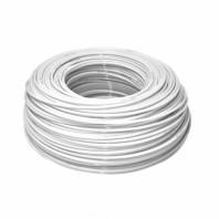 """Шланг білий еластичний поліетиленовий 1/4"""", бухта 50 м KTPE14W-50 Aquafilter"""