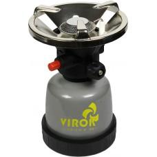 Примус газовий з п'єзозапалом ТМ VIROK під балон 190г 44V140