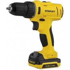 """Шуруповерт акум. """"Stanley"""" 10.8 V в кейсі з 2-ма 1.5 А/год (Li-ion) акум. патрон D10мм SCD12S2-RU"""