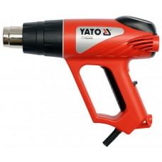 Фен технічний мережевий YATO. P= 2000 Вт 0~550°C, t° режими: 350°С/ 500°С YT-82288