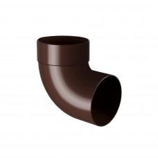 Відвід одномуфтовий 100 87* Rainway (коричневий)