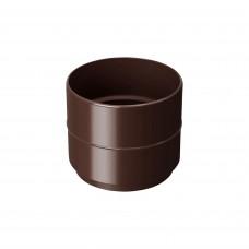 Муфта труби 100 Rainway (коричневий)