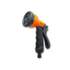 Пістолет пластик 8 положень Presto-PS P 7202 orange