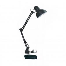 Настільний світильник RIGHT HAUSEN (струбцина) E27 чорний HN-244012