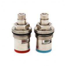 CH16-BVC Комплект змінних кераміч.клапанов в зборі (кран-букси) до подвійних кранів моделі DFCH16-C