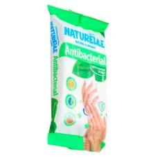 Вологі серветки Naturelle Antibacterial з екстрактом листя подорожника 15 шт