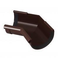 Коліно ринви внутрішнє 130 135* Rainway (коричневий)