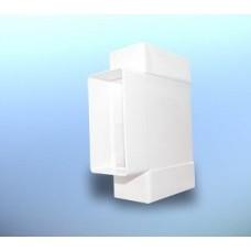 Трійник d 110 пласт. плоский D/TP Dospel