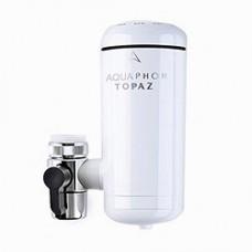 Фільтр-насадка для води на кран Аквафор Топаз