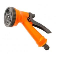 Пістолет пластик 5 положень Presto-PS P 7209 orange