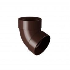 Відвід двохмуфтовий 100 67* Rainway (коричневий)